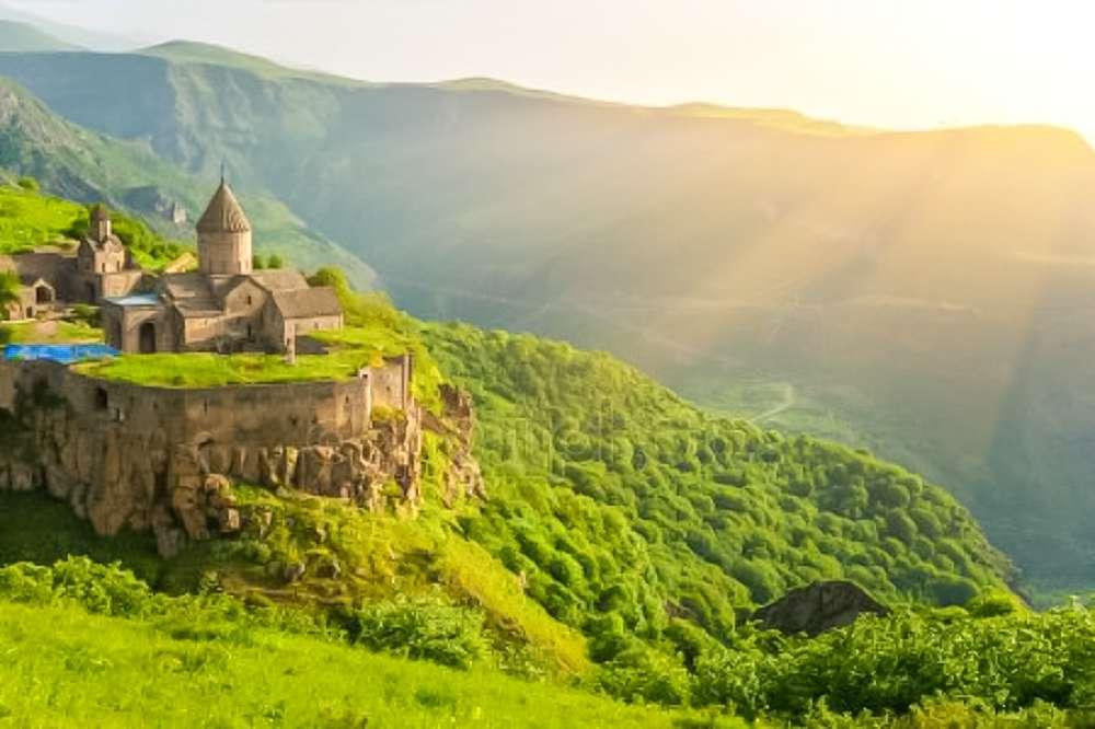 Armenia from a bird's eye view