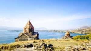 Норатус, Айраванк, Озеро Севан (Севанаванк), мастер-класс шашлыка из севанской форели