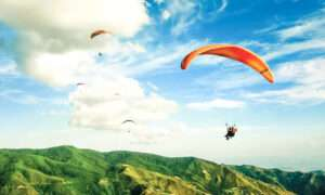 Paragliding – colorful emotions are guaranteed!