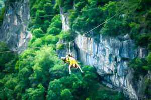 Zip line – the thrill is closer than you think!